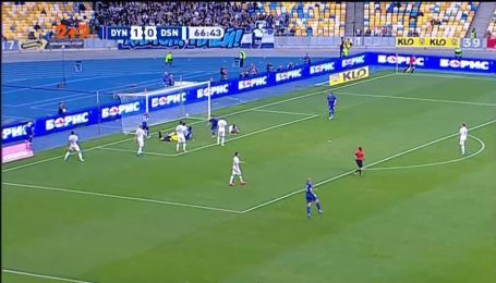 Динамо – Десна – 2:0. Видео гола Вербича