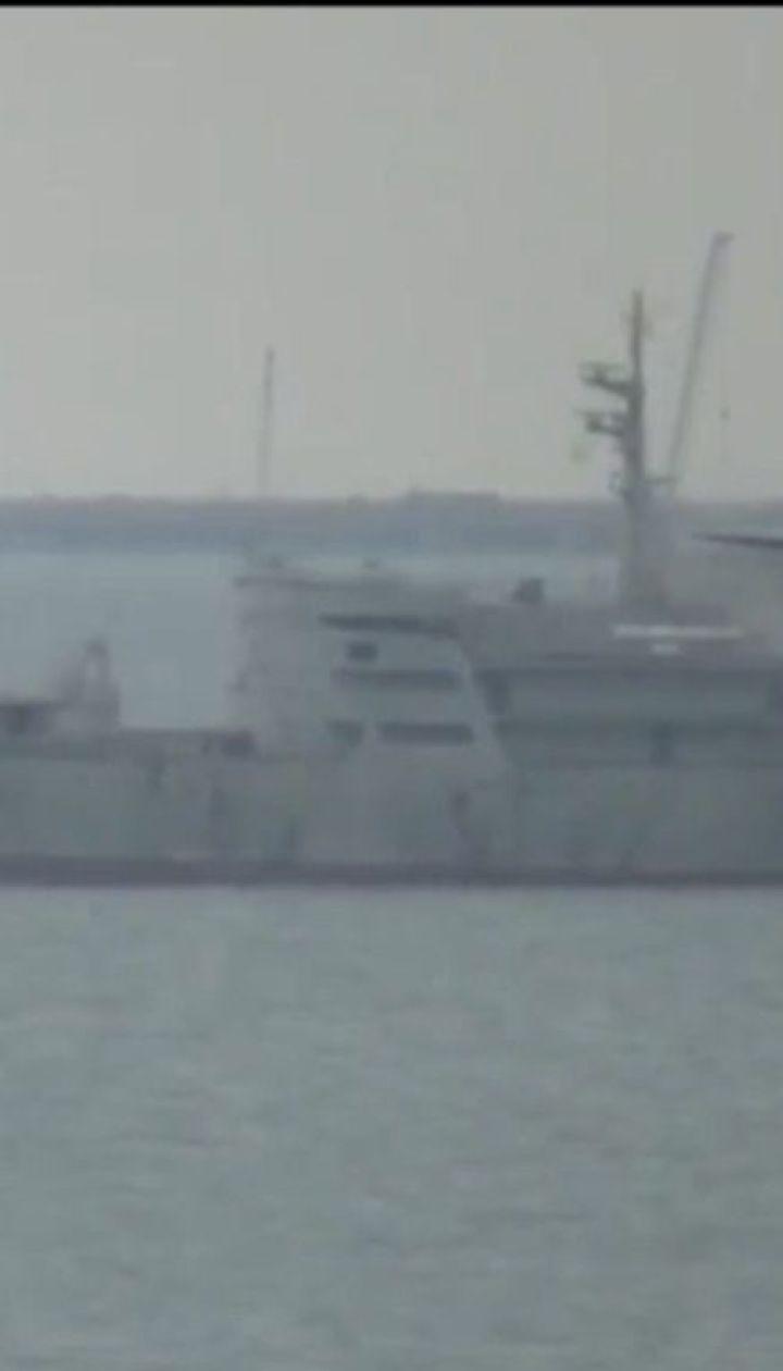 Украинские военные корабли зашли в контролируемый оккупантами Керченский пролив