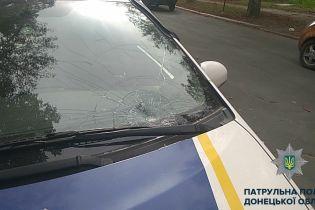 Патрульные Мариуполя сбили женщину на пешеходном переходе