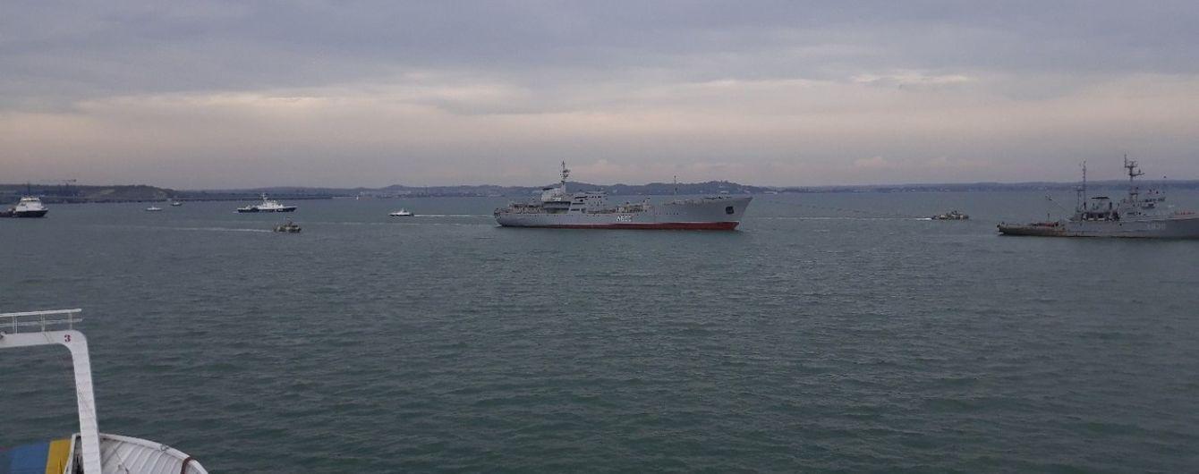 Оккупационные войска устанавливают морские мины вдоль побережья Азовского моря