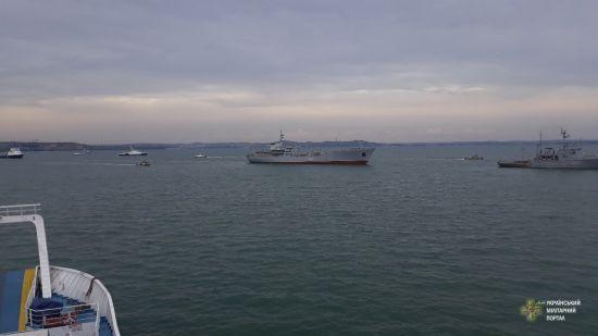Прокуратура відкрила кримінальну справу щодо захоплення українських кораблів за трьома статтями