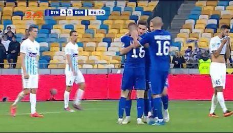 Динамо - Десна - 4:0. Киевляне прервали безвыигрышную серию на НСК Олимпийский