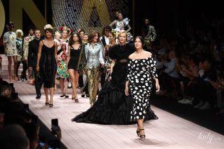 Звездный состав: Беллуччи, Бруни и Герцигова дефилировали на шоу Dolce & Gabbana