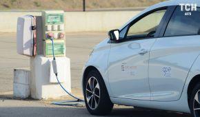 В Украине подсчитали количество зарядный станций для электромобилей