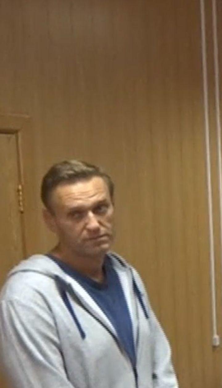 Навального задержали сразу после выхода из-под ареста