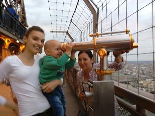 Вероніка Дідусенко з сином_1