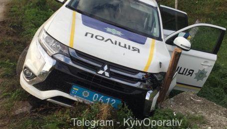 Поліція розбила черговий Mitsubishi, затримуючи порушників