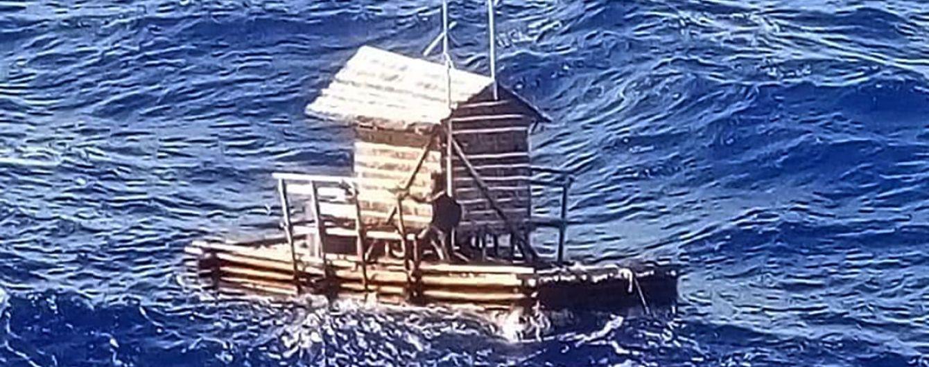 Індонезійський хлопець прожив 49 днів у плавучій хатині серед відкритого океану