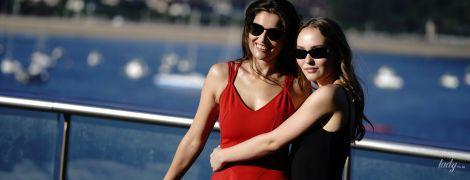 Летиция Каста и Лили-Роуз Депп в красивых нарядах представили совместный фильм