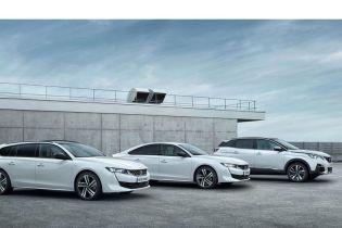 У Peugeot розповіли про гібридні версії моделей 508, 508 SW та 3008