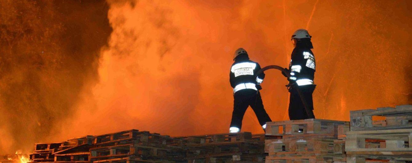 Протягом року в Україні внаслідок пожеж загинули близько 1,4 тисячі осіб