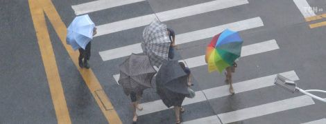 В Украину пришла холодная и дождливая погода. Прогноз на 23 октября