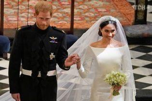 Жена принца Гарри Меган рассказала, что скрыла в своем свадебном платье