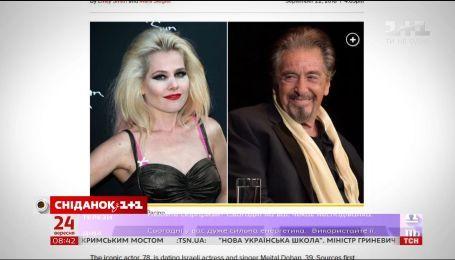 Аль Пачино снова влюбился в женщину моложе себя