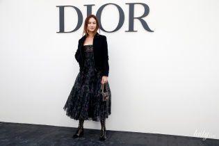 Вся у Dior: Ольга Куриленко на Тижні прет-а-порте у Парижі