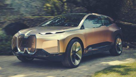 Фантастический прототип BMW iNEXT дебютирует в полете