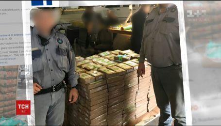 Кокаїну на 18 мільйонів доларів виявили у ящиках з бананами