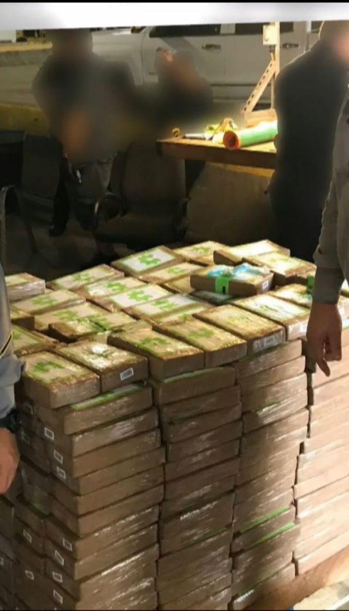 Кокаина на 18 миллионов долларов обнаружили в ящиках с бананами