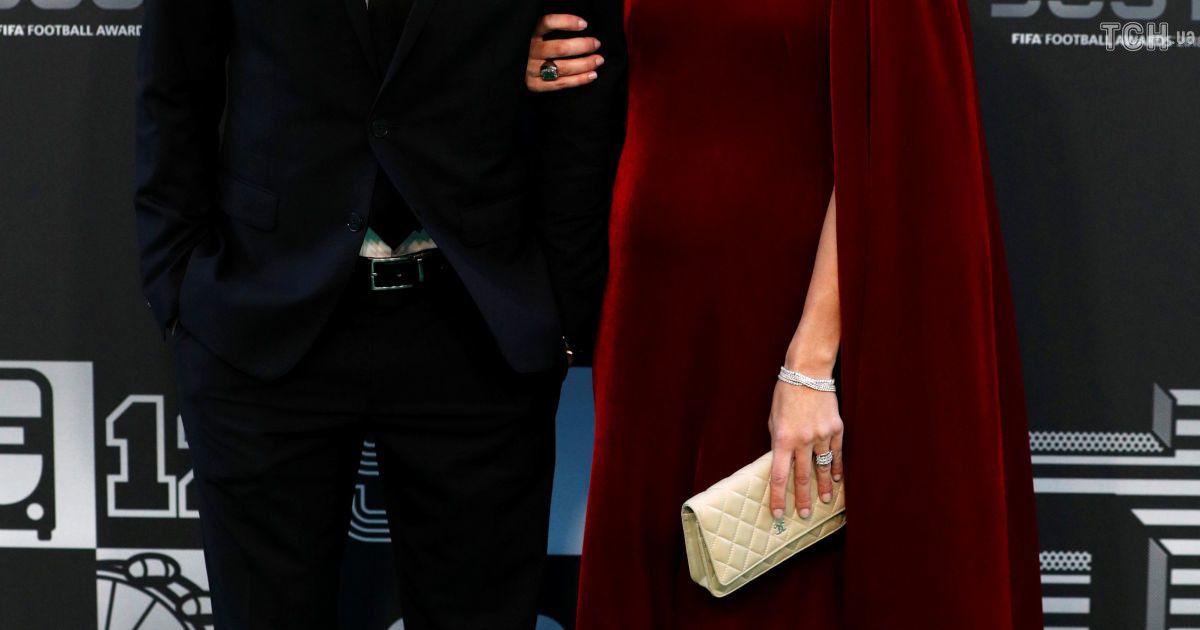 Дієго Форлан з дружиною