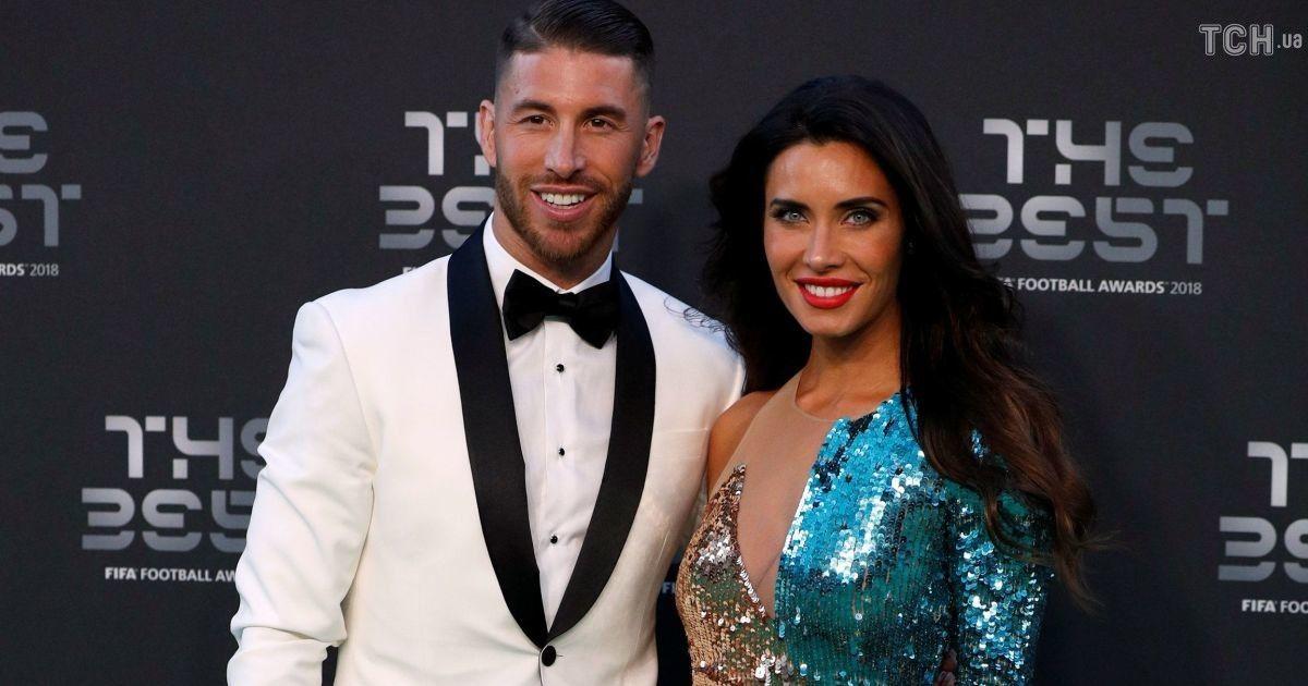 """Футболіст """"Реала"""" Серхіо Рамос з дружиною"""