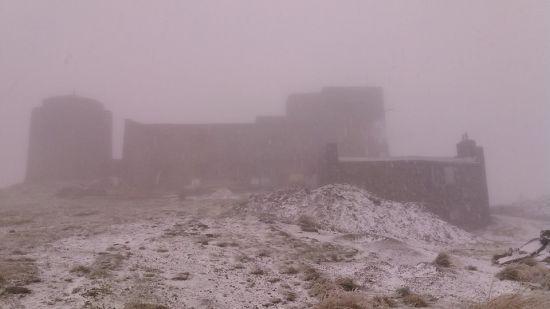 В українських Карпатах випав перший сніг