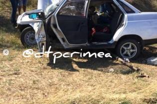 В оккупированном Крыму легковушка врезалась в автобус: 5 погибших