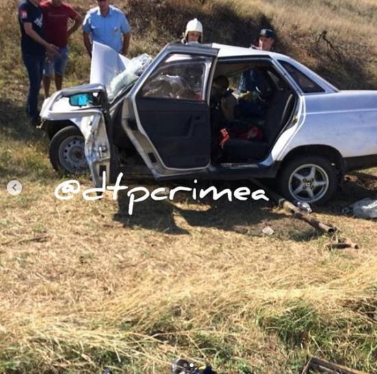 В окупованому Криму легковик врізався в автобус: 5 загиблих