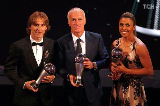 Від Салаха до Модріча. Усі лауреати ФІФА The Best-2018