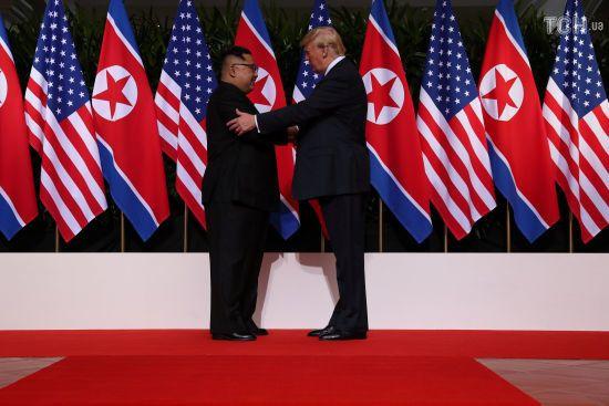 Трамп заявив про підготовку другої зустрічі з Кім Чен Ином