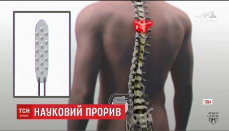 В США успешно испытали имплант, что позволяет парализованным людям ходить