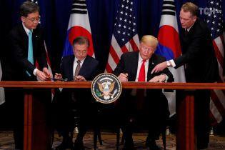 США и Южная Корея подписали соглашение о свободной торговле