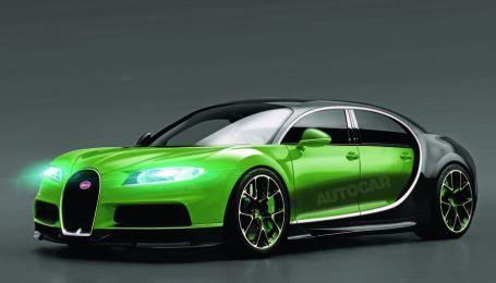 В Bugatti хотят создать серийный кроссовер на базе Chiron
