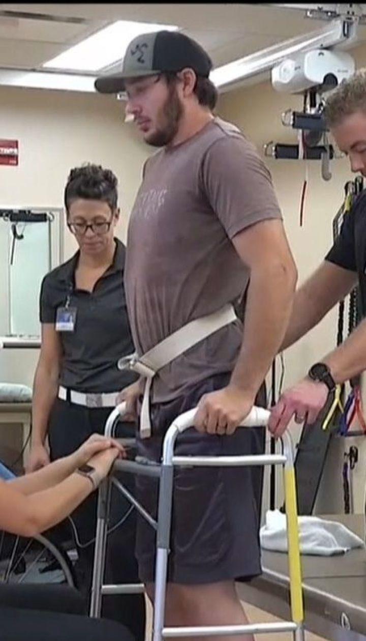 Американські розробники створили імплант, який може поставити паралізованих людей на ноги