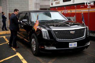 В Нью-Йорке сняли новый президентский лимузин Трампа