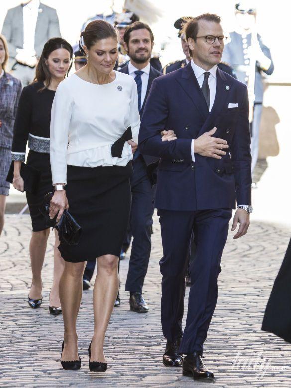 Кронпринцесса Виктория и принц Даниэль