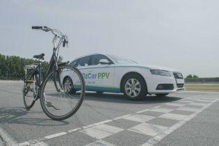 Из универсала Audi A4 сделали велосипед для поклонников ЗОЖ