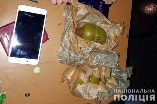 У пассажира метро в Киеве изъяли две гранаты