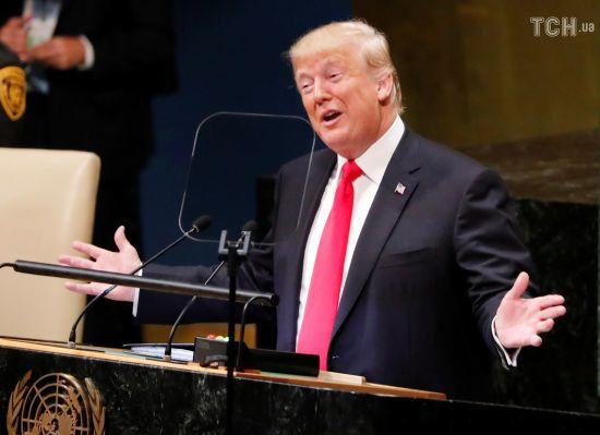 Трамп: Лідери Ірану сіють хаос, у листопаді на них чекають нові санкції