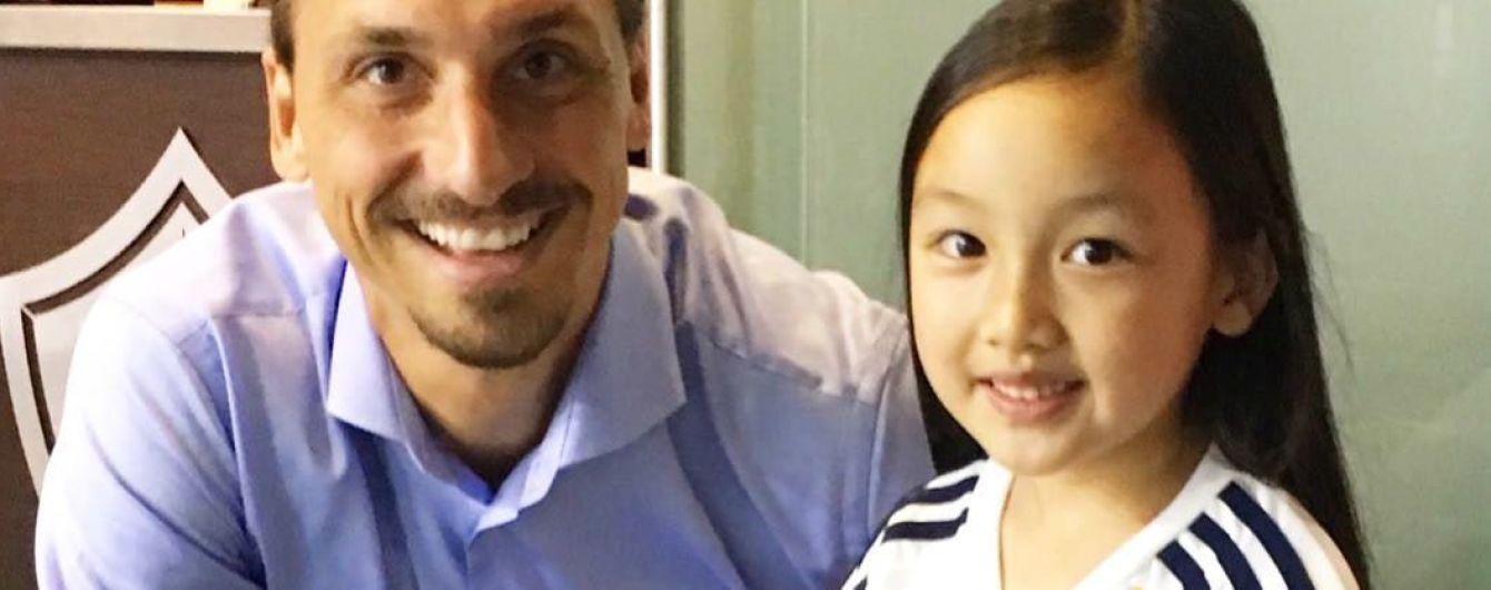 Семилетняя девочка так спела гимн США, что растрогала самого Ибрагимовича