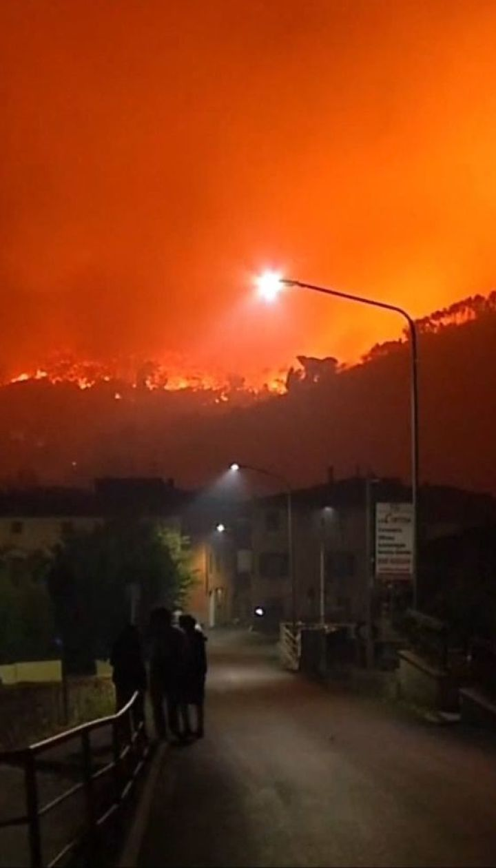Тоскана у вогні. В Італії зайнялися ліси неподалік Пізи