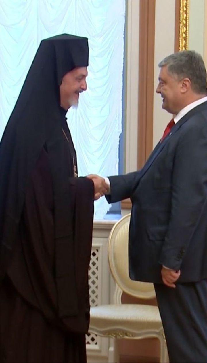 Порошенко заявив, що процес надання Україні томосу на створення помісної церкви уже на фінальній стадії