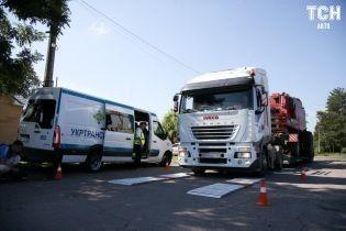 В Полтавской области перевозчики влетели на 2,3 млн гривен за перегруз фур