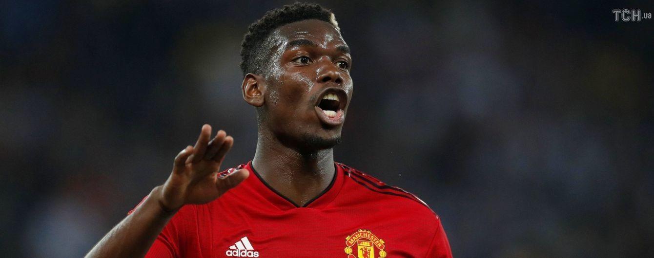 """Диявольський скандал. Моурінью назавжди відібрав у Погба капітанську пов'язку в """"Манчестер Юнайтед"""""""