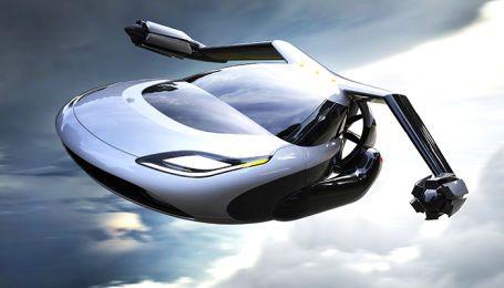 Американцы запускают в продажу летающий автомобиль Terrafugia