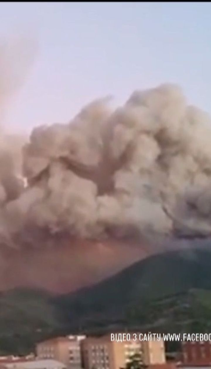 Десятки рейсів скасували через масштабну лісову пожежу в Тоскані