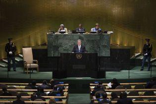 Молчание мира - это оружие Кремля: о чем Порошенко говорил на сессии Генассамблеи ООН