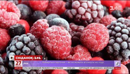 Запас вітамінів: як правильно заморожувати овочі та фрукти