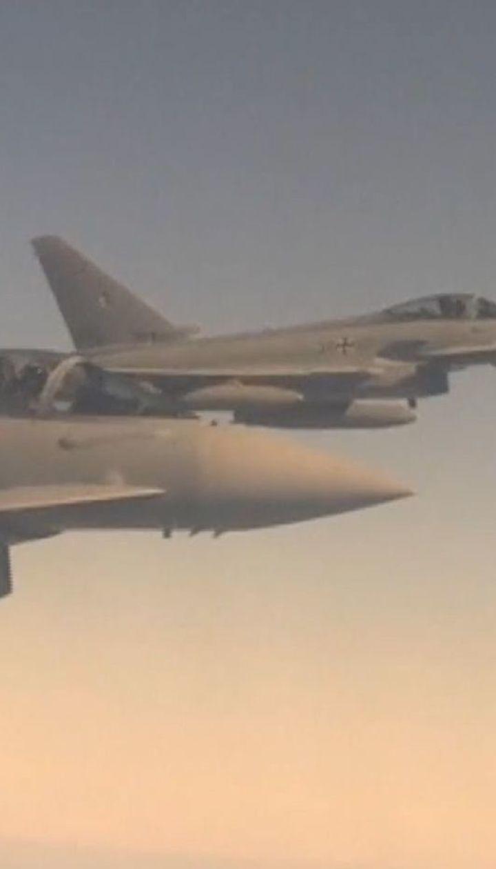 Винищувачі НАТО перехопили російські бомбардувальники над Балтійським морем