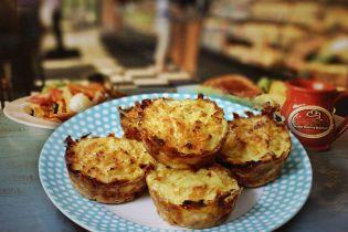 Овочево-сирні мафіни