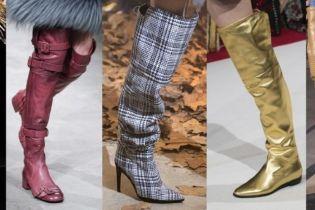 Обувь 2018-2019: четыре горячих тренда